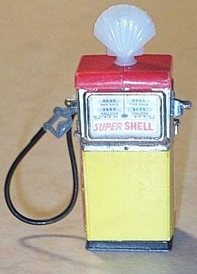 Image of toy Shell classic petrol pump